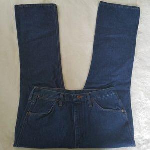 Vintage Wrangler dark wash high waisted mom jeans